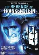 The Revenge of Frankenstein - Australian DVD cover (xs thumbnail)