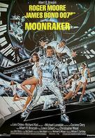 Moonraker - Swedish Movie Poster (xs thumbnail)