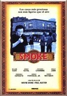 Smoke - Spanish Movie Poster (xs thumbnail)