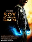 I Am Number Four - Mexican Movie Poster (xs thumbnail)