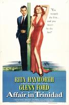 Affair in Trinidad - Movie Poster (xs thumbnail)