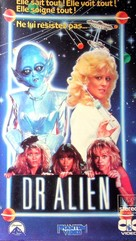 Dr. Alien - French VHS movie cover (xs thumbnail)