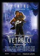 Aliens - Czech Re-release poster (xs thumbnail)