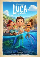 Luca - French Movie Poster (xs thumbnail)