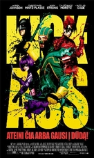 Kick-Ass - Lithuanian Movie Poster (xs thumbnail)