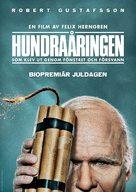 Hundraåringen som klev ut genom fönstret och försvann - Swedish Movie Poster (xs thumbnail)