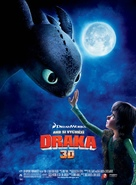 How to Train Your Dragon - Czech Movie Poster (xs thumbnail)