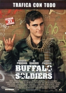 Buffalo Soldiers - Spanish Movie Poster (xs thumbnail)