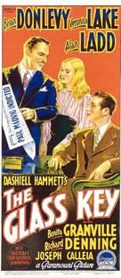 The Glass Key - Australian Movie Poster (xs thumbnail)