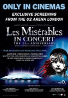 Les Misérables in Concert: The 25th Anniversary - New Zealand Movie Poster (xs thumbnail)