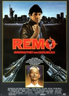 Remo Williams: The Adventure Begins - German Movie Poster (xs thumbnail)