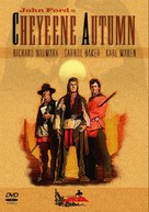 Cheyenne Autumn - DVD movie cover (xs thumbnail)