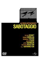 Sabotage - Italian DVD cover (xs thumbnail)