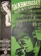 The House on Telegraph Hill - Danish Movie Poster (xs thumbnail)