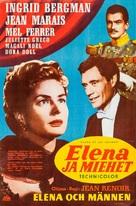 Elena et les hommes - Finnish Movie Poster (xs thumbnail)