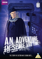 An Adventure in Space and Time - British DVD movie cover (xs thumbnail)