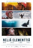 Neljä elementtiä - maa, vesi, ilma, tuli - Finnish Movie Poster (xs thumbnail)