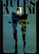 Jules Et Jim - Czech Movie Poster (xs thumbnail)