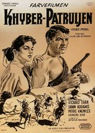 Khyber Patrol - Danish Movie Poster (xs thumbnail)