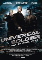 Universal Soldier: Day of Reckoning - Belgian DVD cover (xs thumbnail)