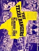 The Texas Rangers - Movie Poster (xs thumbnail)