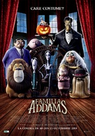 The Addams Family - Romanian Movie Poster (xs thumbnail)