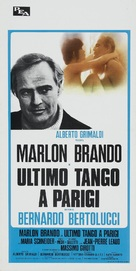 Ultimo tango a Parigi - Italian Movie Poster (xs thumbnail)