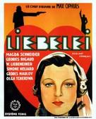 Liebelei - Belgian Movie Poster (xs thumbnail)