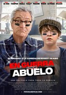 The War with Grandpa - Spanish Movie Poster (xs thumbnail)