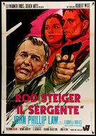 The Sergeant - Italian Movie Poster (xs thumbnail)