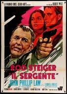 The Sergeant - Italian Movie Poster (xs thumbnail)