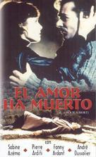 Amour à mort, L' - Spanish Movie Cover (xs thumbnail)