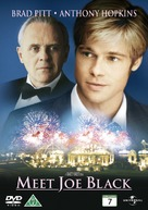 Meet Joe Black - Danish DVD cover (xs thumbnail)
