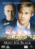 Meet Joe Black - Danish DVD movie cover (xs thumbnail)