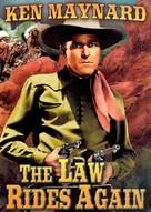 The Law Rides Again - DVD cover (xs thumbnail)