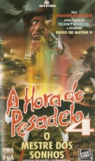 A Nightmare on Elm Street 4: The Dream Master - Brazilian VHS movie cover (xs thumbnail)