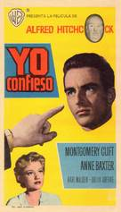 I Confess - Spanish Movie Poster (xs thumbnail)