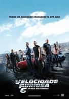 Furious 6 - Portuguese Movie Poster (xs thumbnail)