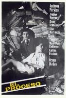 Le procès - Argentinian Movie Poster (xs thumbnail)