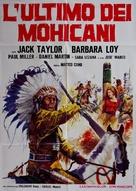 Uncas, el fin de una raza - Italian Movie Poster (xs thumbnail)