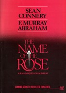 The Name of the Rose - Movie Poster (xs thumbnail)