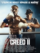Creed II - French Movie Poster (xs thumbnail)