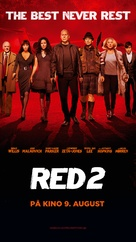 RED 2 - Norwegian Movie Poster (xs thumbnail)