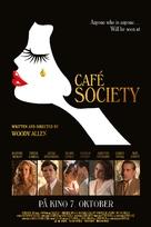 Café Society - Norwegian Movie Poster (xs thumbnail)