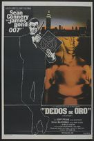 Goldfinger - Argentinian Movie Poster (xs thumbnail)