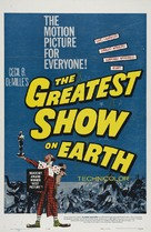The Greatest Show on Earth - Re-release poster (xs thumbnail)
