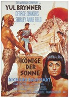 Kings of the Sun - German Movie Poster (xs thumbnail)