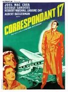 Foreign Correspondent - French Movie Poster (xs thumbnail)