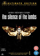 The Silence Of The Lambs - British DVD cover (xs thumbnail)