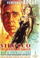 Sirocco - German Movie Poster (xs thumbnail)